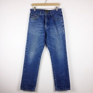 Vintage high waisted jeans straight leg dad jeans